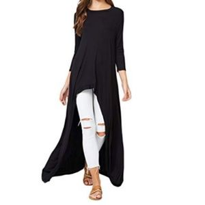 Sweaters - Annabelle  Casual Long Maxi Tunic Tops